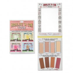 The Balm Highlite 'N Con Tour, paleta do konturowania i rozświetlania