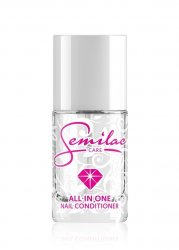 Semilac, All in One, odżywka, baza i top coat w jednym, 12ml