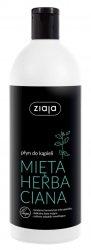 Ziaja, wegański płyn do kąpieli, Mięta Herbaciana, 500ml