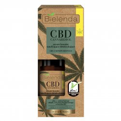 Bielenda CBD, serum-booster nawilżająco-detoksykujące do cery mieszanej i tłustej, 15ml