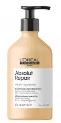 Loreal Absolut Repair, szampon regenerujący włosy uwrażliwione, 500ml