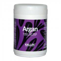 Kallos Argan, maska do włosów farbowanych, 1000ml