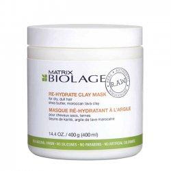 Biolage RAW Rehydrate, maska nawilżająca, 400ml