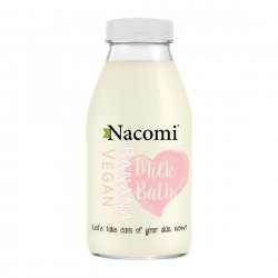 Nacomi, mleko do kąpieli - banan, 300ml