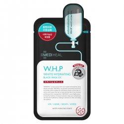 Mediheal W.H.P White Hydrating Black Mask EX., czarna maska nawilżająco-wybielająca, 25ml
