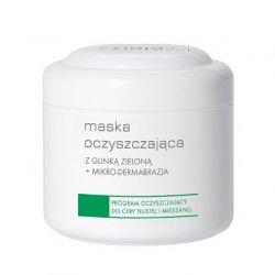 Ziaja Pro, Maska Oczyszczająca Z Glinką +Mikrodermabrazja, program oczyszczający do cery tłustej i mieszanej, 250ml