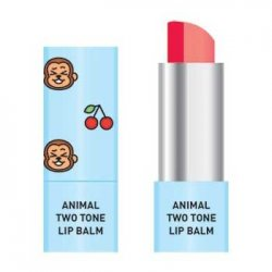 Skin79 Animal Two-Tone Lip Balm, balsam do ust w sztyfcie, Cherry Monkey, 3,8g