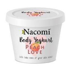 Nacomi, jogurt do ciała - brzoskwinia, 180ml