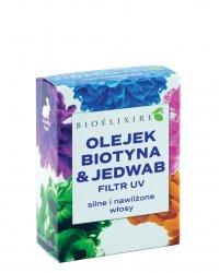 Bioelixire, olejek biotyna & jedwab + filtr UV, 20ml