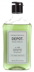 Depot No. 406, transparentny żel do golenia, 200ml