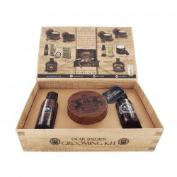 Dear Barber Style & Go Collection - Mattifier, zestaw: szampon 50ml, tonik 30ml, pasta matująca 100ml