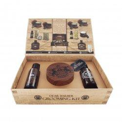 Dear Barber Style & Go Collection - Mattifier, zestaw: szampon 50ml, tonik 30ml, pasta matująca 100ml