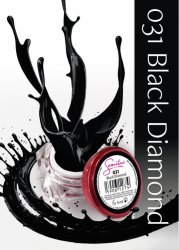 Semilac UV Gel Color 031 Black Diamond, 5ml