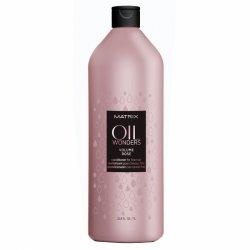 Matrix Oil Wonders Volume Rose, odżywka do włosów z olejkiem różanym, 1000ml