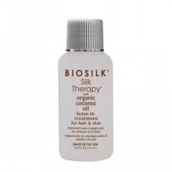 Biosilk Organic Coconut Oil, odżywka bez spłukiwania, 15ml