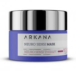 Arkana, neuro-maska na noc dla skór naczyniowych i ekstremalnie wrażliwych, 50ml, ref. 64002