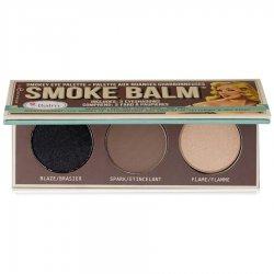 The Balm Smoke 1, Smokey Eye Palette, paleta 3 cieni do powiek, 10,2g