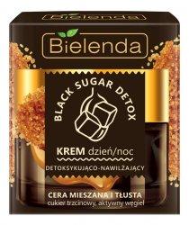 Bielenda Black Sugar Detox, krem detoksykująco-nawilżający, 50ml
