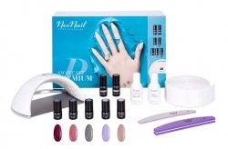 NeoNail Smart Set Premium, zestaw do manicure z lampą UV