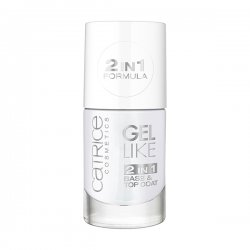 Catrice, baza i top coat 2w1, Gel Like