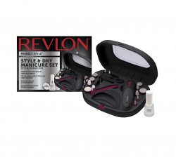 Revlon Style&Dry Manicure Set, zestaw do paznokci