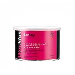 Peggy Sage, wosk do depilacji rozpuszczalny w letniej temperaturze, różany, 400ml, ref. 601060