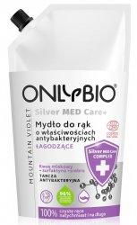OnlyBio Silver Med Care+, mydło o właściwościach antybakteryjnych i łagodzących, refill, 500ml