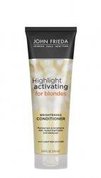 John Frieda Sheer Blonde Brilliantly Brighter, odżywka rozświetlająca, 250ml