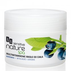 AA Sensitive Nature Spa, Bor�wka, mutliwitaminowe mas�o do ciala, 200ml