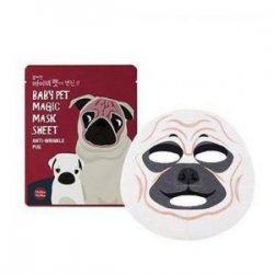 Holika Holika Baby Pet Magic Pug, maska zwierzęca - mops
