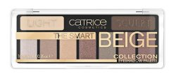 Catrice The Smart Beige Collection Eyeshadow 010, paleta cieni do powiek