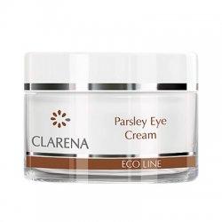Clarena Eco Line, krem pod oczy z ekstraktem z pietruszki do każdego rodzaju cery, 15ml