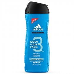 Adidas 3in1 After Sport, żel pod prysznic, 400ml (M)