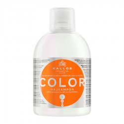 Kallos KJMN Color, szampon do włosów farbowanych, 1000ml