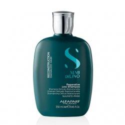 Alfaparf Semi di Lino Reconstruction, szampon regenerujący do włosów zniszczonych, 250ml