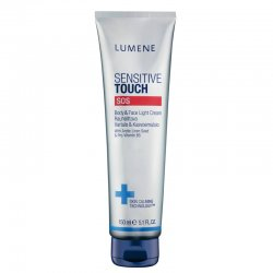 Lumene Sensitive touch SOS, krem do ciała i twarzy, 150ml