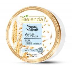 Bielenda Vegan Muesli, nawilżające masło do ciała, 250ml