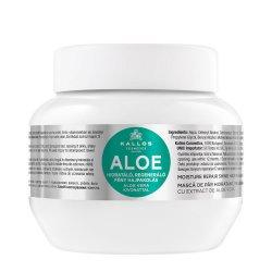 Kallos KJMN Aloe, maska aloesowa regenerująco-nawilżająca, 275ml