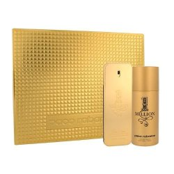 Paco Rabanne 1 Million, zestaw perfum EDT 100ml + deodorant 150ml (M)