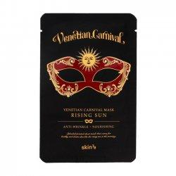 Skin79 Venetian Carnival, maska w płacie przeciwzmarszczkowo-odżywcza Rising Sun, 23g