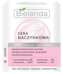Bielenda Cera naczynkowa, krem redukujący zaczerwienienie na dzień, 50ml
