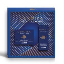 Dermika, zestaw prezentowy Neocollagen 60+, krem naprawczy 50ml + krem pod oczy 15ml