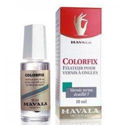 Mavala Colorfix, bezbarwny utwardzacz lakieru z akrylem, 10ml