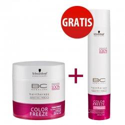 Schwarzkopf BC Color Freeze, szampon + maska do w�os�w farbowanych, 2 za 1
