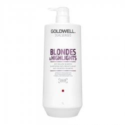 Goldwell Dualsenses Blondes & Highlights, szampon neutralizujący, 1000ml