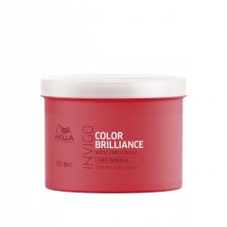 Wella Invigo Brilliance, maska do włosów normalnych i cienkich, 500ml