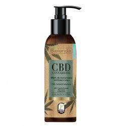 Bielenda CBD, olejek do mycia twarzy do cery suchej i wrażliwej, 140ml