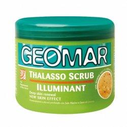 Geomar Thalasso Scrub, cytrynowy rozświetlający peeling do ciała, 600g