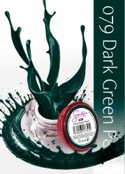 Semilac UV Gel Color 079 Dark Green Pearl, 5ml