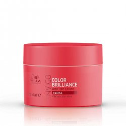 Wella Invigo, Color Brilliance, maska do włosów grubych, 150ml